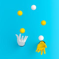 Juggling Balls: 3 Tips for Better Life Management