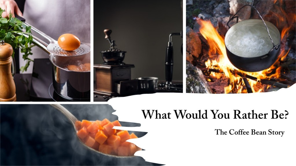 Carrot, Egg or Coffee Bean - Pic Collage