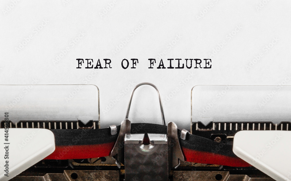 Fear of Failure on Type Writing